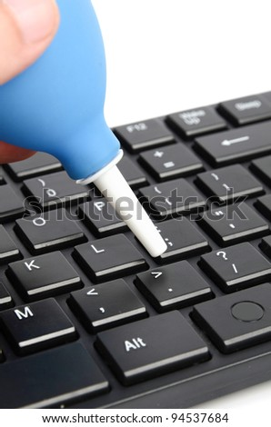 Cleaning keyboard