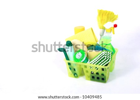 Cleaning period - stock photo