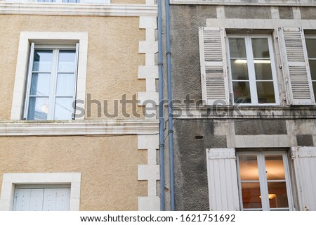 cleaning washing wall restoration building house before and after pressure water facade exterior
