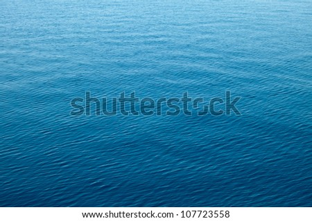 clear blue sea, water seascape abstract background