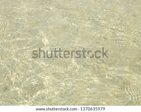 Clear crytal sea, clear water background