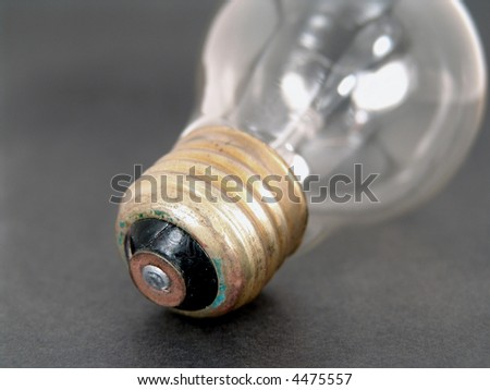 Clear Light Bulb