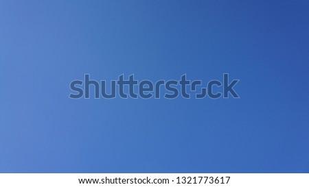 clear spring sky
