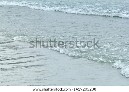Clear wave and clear beach background