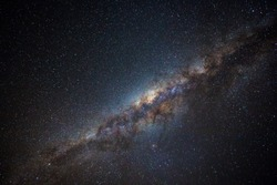 Clearly milky way found in Australia outback.