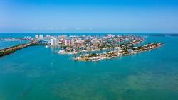 Clearwater Beach Isle Over Florida Intercoastal Waterway