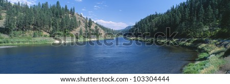 Clearwater River; Lewis and Clark 1805 expedition route, Idaho