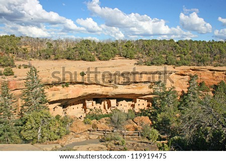 Cliff dwellings in Mesa Verde National Park, Colorado