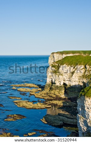 Cliff on British Coast