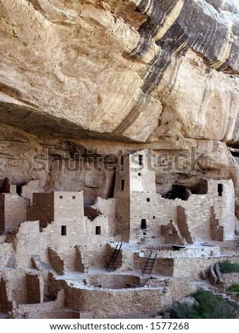 Cliff Palace, Anasazi Cliff Dwelling, Mesa Verde National Park, Colorado