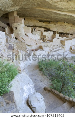 Cliff Palace in Mesa Verde National Park, Colorado, United States