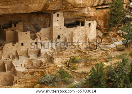 Cliff Palace, Mesa Verde in the Fall