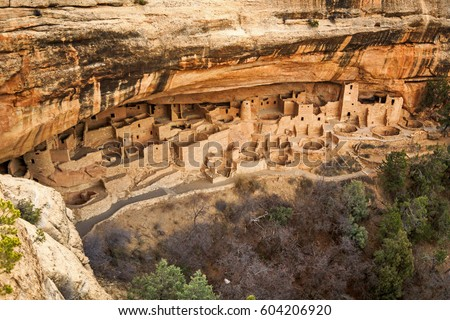 Shutterstock Cliff Palace ruins at Mesa Verde, Colorado, USA.