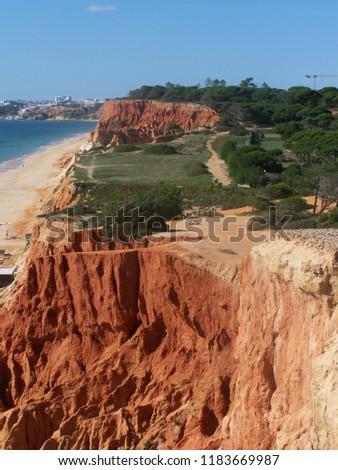 Cliff top, Algarve, Portugal #1183669987