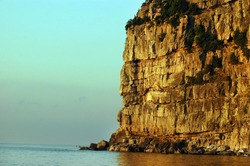 Cliff, Zonguldak, Karadeniz, Black Sea - TURKEY