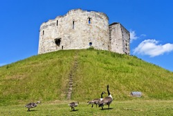 Clifford's Tower at York, England