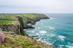 Cliffs and blueocean, Ireland