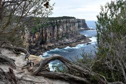 Cliffs at Manly North Head, Sydney, Australia