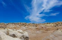 cliffs in the desert on Bintan Island