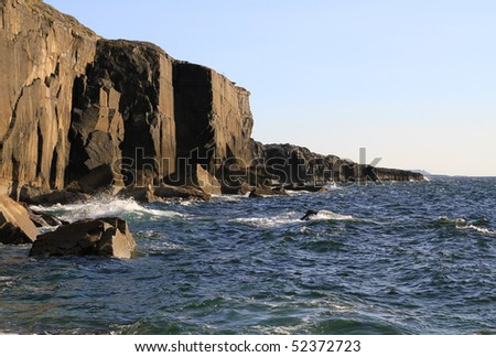 Cliffs near Fanore - Ireland