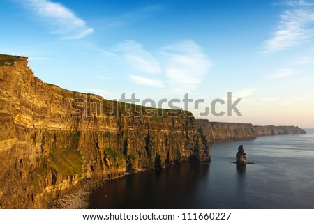 Cliffs Of Moher Co. Clare Ireland - Shutterstock ID 111660227