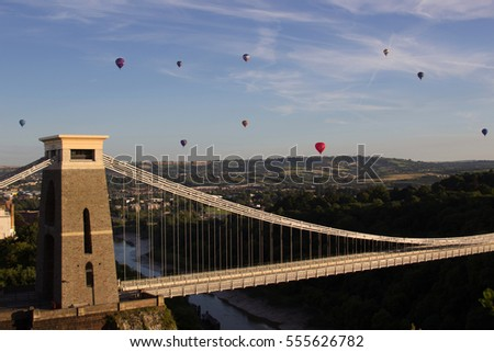 Clifton Suspension Bridge #555626782