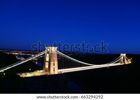 Clifton Suspension Bridge  #663294292