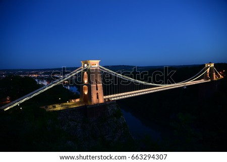 Clifton Suspension Bridge  #663294307