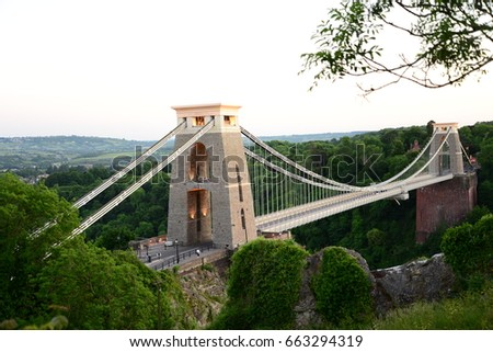 Clifton Suspension Bridge  #663294319