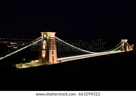 Clifton Suspension Bridge  #663294322