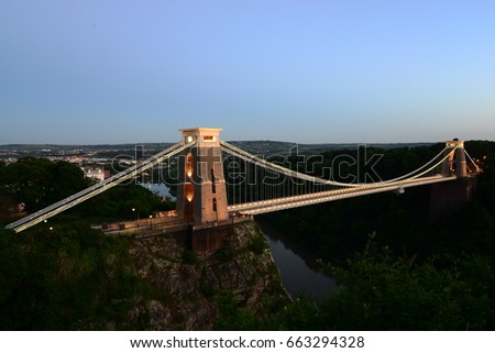 Clifton Suspension Bridge  #663294328