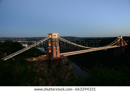 Clifton Suspension Bridge  #663294331