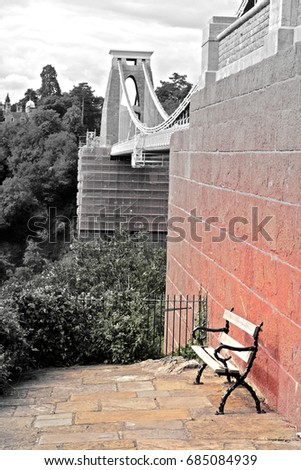 Clifton Suspension Bridge #685084939