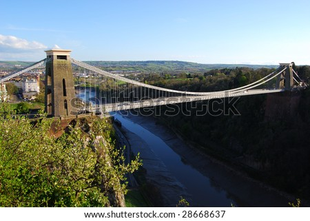 http://image.shutterstock.com/display_pic_with_logo/5075/5075,1239900703,1/stock-photo-clifton-suspension-bridge-bristol-28668637.jpg