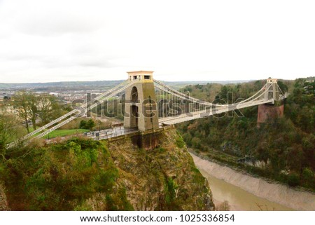 Clifton Suspension Bridge, Bristol, UK #1025336854