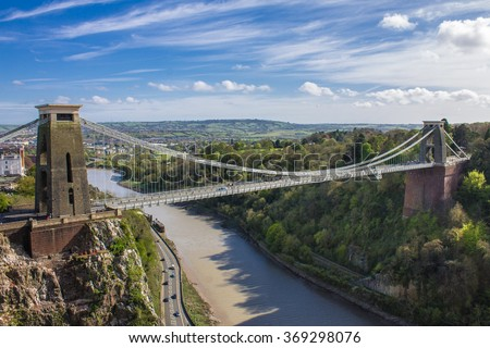 Clifton Suspension Bridge, Bristol, UK #369298076