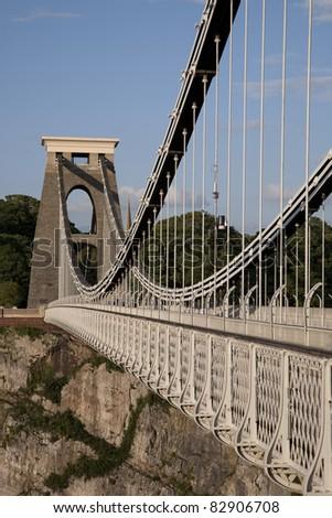 Clifton Suspension Bridge by Brunel, Bristol, England, UK
