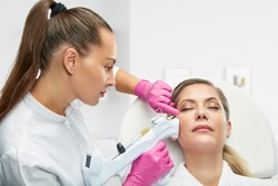 Clinic of Aesthetic Medicine. PRP-therapy