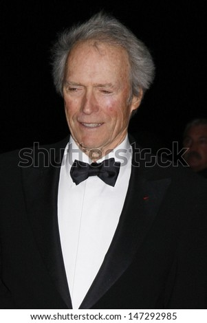 Clint Eastwood  arriving at the 20th Annual Palm Springs Film Festival Awards Gala at the Palm Springs Convention Center in Palm Springs, CA on  January 6, 2009