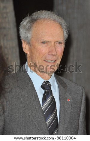 "Clint Eastwood at the Los Angeles premiere of his new movie ""Invictus"" at the Academy of Motion Picture Arts & Sciences Theatre. December 3, 2009  Beverly Hills, CA Picture: Paul Smith / Featureflash"