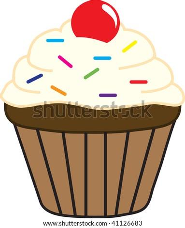 birthday cupcakes clipart. irthday cupcake clipart