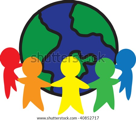 Pictures Of Unity In Art. stock photo : clip art