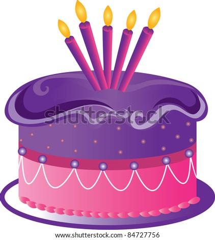 Yellow Birthday Cake Clip Art : clipart fairy cakes