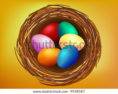 Egg Clip Art. Clip-art of Easter eggs in