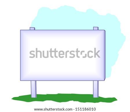 Clip Art Sign for Ads