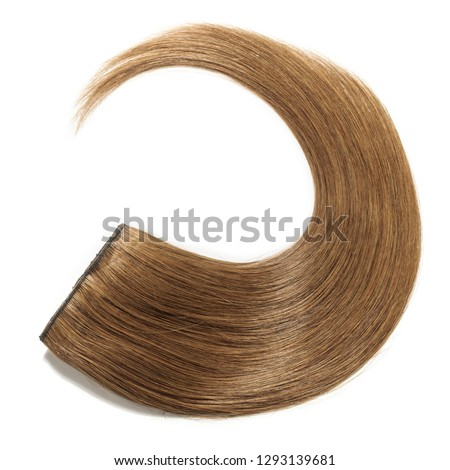 clip in remy straight medium brown human hair extensions #1293139681