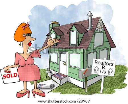house clipart image. stock photo : Clipart