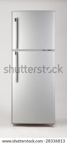 clipping path of freezer on the plain background