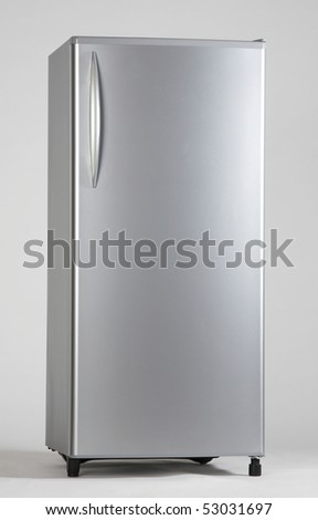 clipping path of the single door freezer