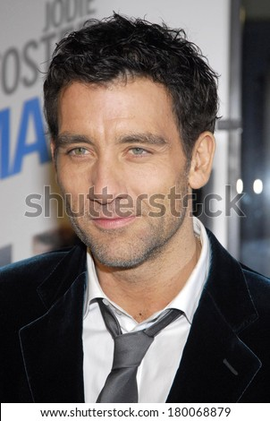 Clive Owen at THE INSIDE MAN Premiere, The Ziegfeld Theatre, New York, NY, March 20, 2006